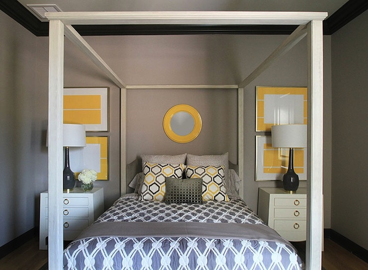 Yellow And Gray Bedroom Decor: Yellow And Gray Bedroom