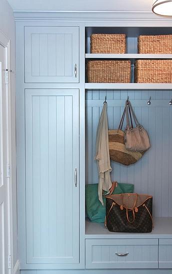 Blue Beadboard Cabinet Doors Design Ideas