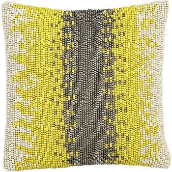 Beaded Pillow, Crate and Barrel