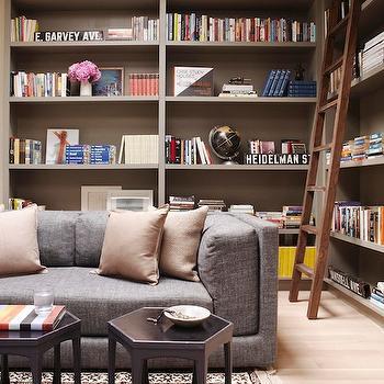 Built In Bookcase, Contemporary, den/library/office, Simo Design