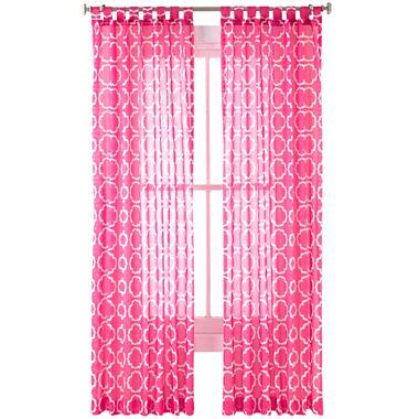 Happy Chic by Jonathan Adler Katie Sheer Curtain Panel I jcpenney