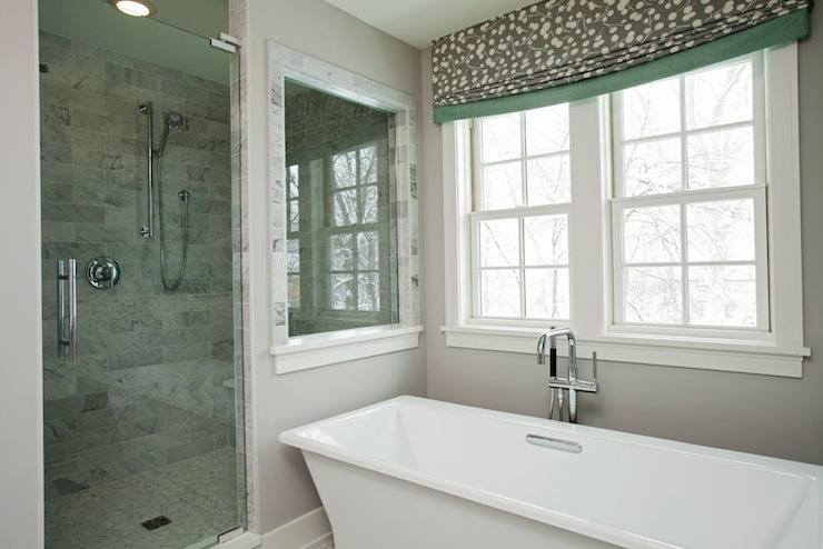 Glass shower design contemporary bathroom refined llc Bathroom designs with window in shower
