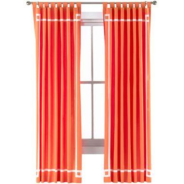 happy chicjonathan adler lola canvas curtain panel i jcpenney