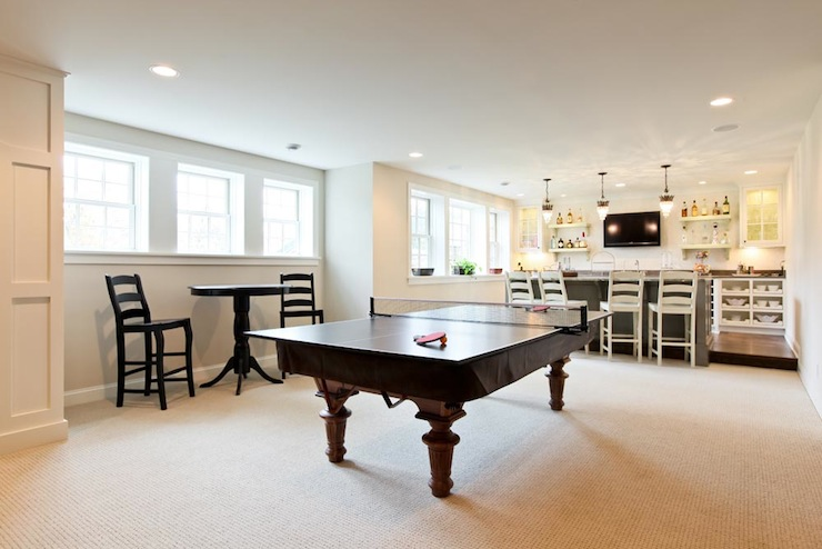 Attic Game Room Transitional Media TTM Development