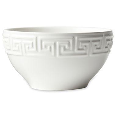 sc 1 st  Decorpad & Happy Chic by Jonathan Adler Elizabeth Greek Key Bowl I jcpenney