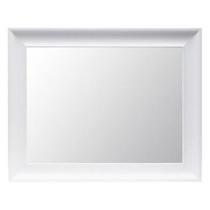 threshold flat mirror white i target - White Framed Mirrors