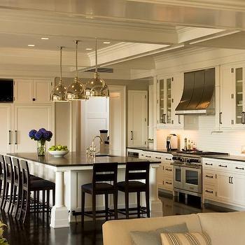 Built In TV Niche, Transitional, kitchen, Shope Reno Wharton