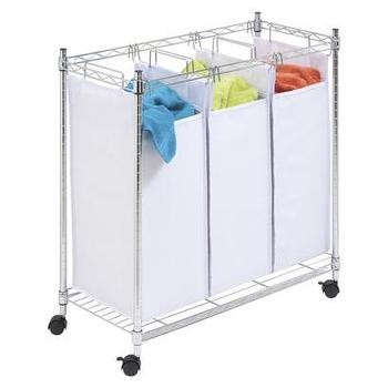 Ellie Rolling Laundry Cart World Market