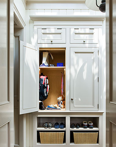 Attractive Mudroom Cabinets