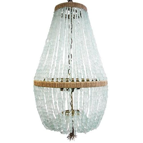 Glass Chandelier Beads: Ro Sham Beaux Malibu Up Coke Bottle Glass Chandelier I zinc door,Lighting