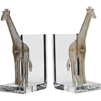 Spisani Giraffe Bookends I Barneys.com