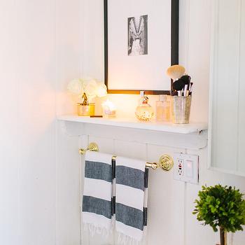 towel rack above toilet design ideas, Home decor