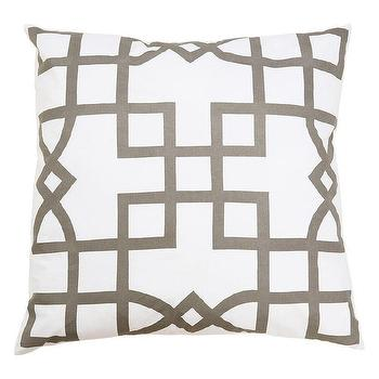 Allem Studio Maze Gray Pillow I zinc door