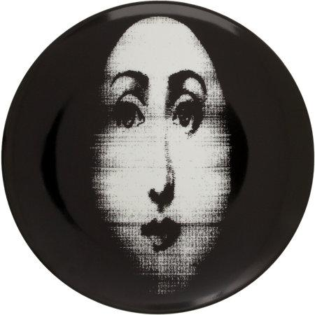 Fornasetti Theme u0026 Variations Decorative Plate #317 I Barneys.com  sc 1 st  Decorpad & Two Vintage Fornasetti Faces Black and White Prints