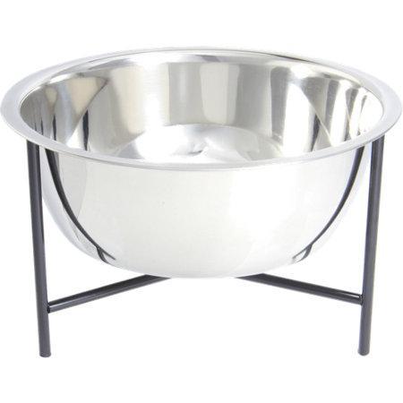 Jonathan Adler Lucite And Brass Dog Bowl
