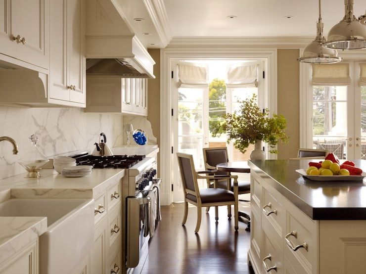 Ivory Kitchen Cabinets  Traditional  kitchen  Andrew Skurman