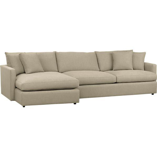 Crate and barrel sidecar sectional shopping in crate and for Crate and barrel sofa