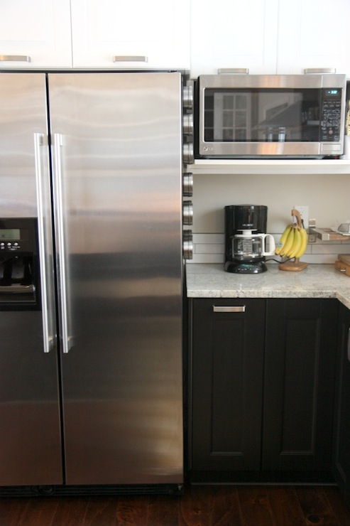 Black Brown Ramsjo Cabinets Design Ideas