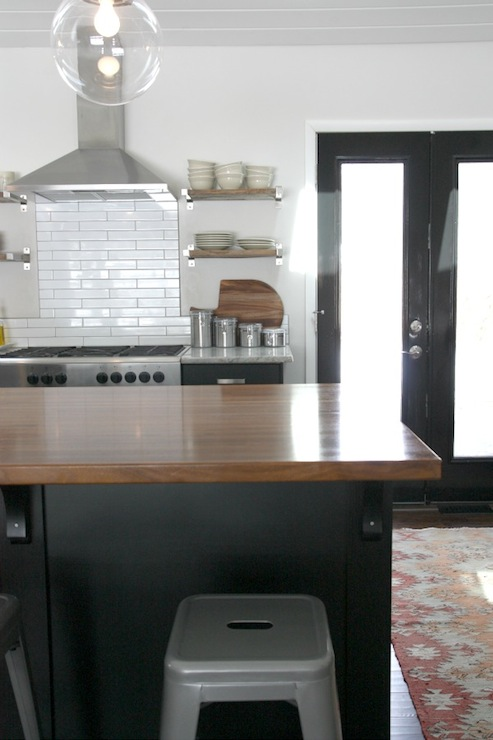 view full size beautiful kitchen features black ikea kitchen cabinets - Ikea Black Kitchen Cabinets