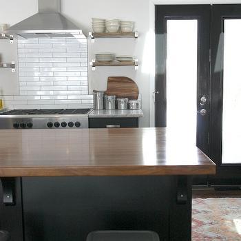 Ikea Kitchen Island, Contemporary, kitchen, House Tweaking