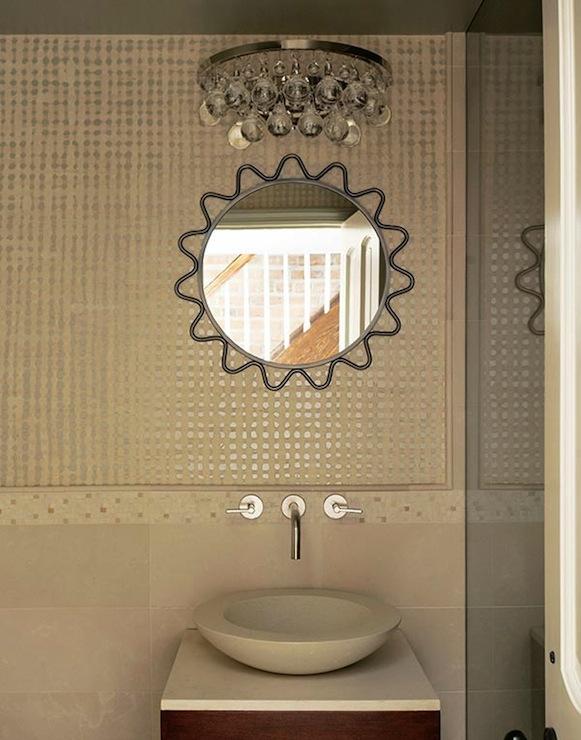 Metal vessel sink contemporary bathroom hutker for Roberts designs bathroom accessories