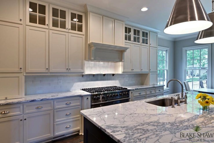 2 Tone Kitchen Contemporary Blake Shaw Homes