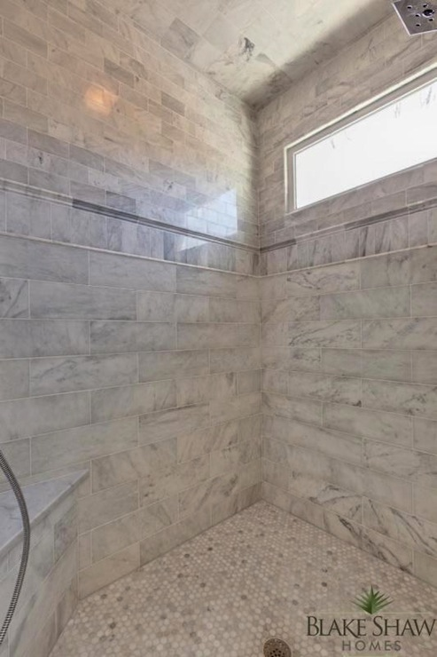 Marble Shower Bench Traditional Bathroom Atlanta