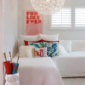 Ikea PS Maskros, Contemporary, girl's room, K Mathiesen Brown Design