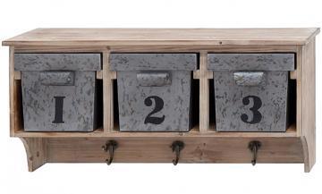Storage Shelf with Hooks - HomeDecorators.com