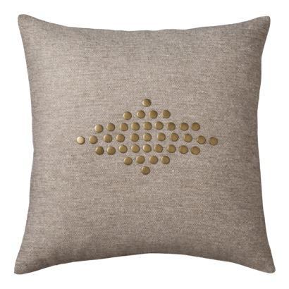 Nate Berkus Nail Head Decorative Pillow, Earth I Target