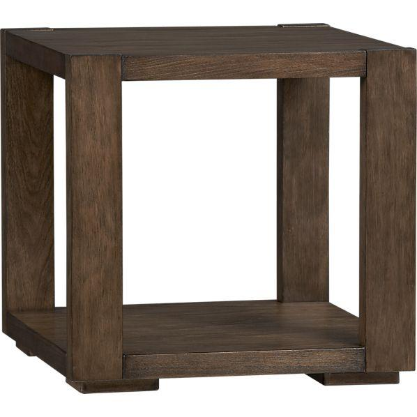 Great Lodge Side Table   Crate And Barrel