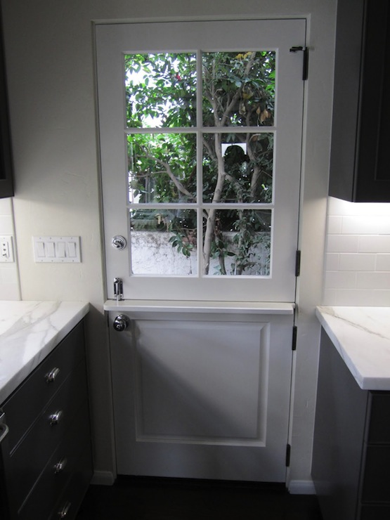 Dutch Door Contemporary Kitchen Cococozy