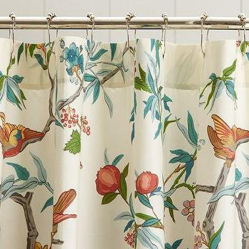 Curtains Ideas botanical shower curtain : Botanical Silhouette Shower Curtain - Products, bookmarks, design ...