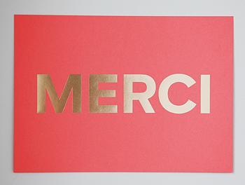 MERCI Coral+Gold I MadeByGirl: