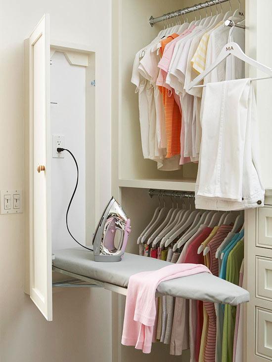 Delightful Closet Ironing Board