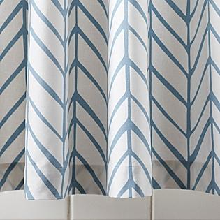 Feather Shower Curtain - Serena & Lily