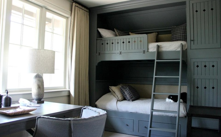 Boys Built In Bunk Beds Country Boy S Room Ruard
