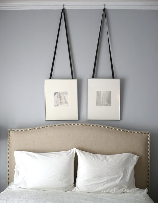 Silver Gray Paint Color Contemporary Bedroom Benjamin Moore Silver Dollar Apartment Therapy