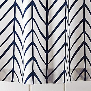Navy Feather Shower Curtain   Serena U0026 Lily Link On Pinterest View Full Size