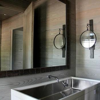 Trough Sink Bathroom, Country, bathroom, Ruard Veltman Architecture