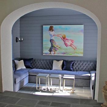 Purple Sofa, Contemporary, entrance/foyer, Ruard Veltman Architecture