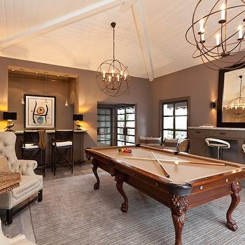 Game Room, Transitional, media room, Gordon Gibson Construction