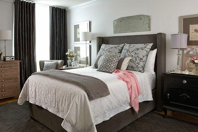 Bedroom Benjamin Moore Classic Gray Jane Lockhart Interior Design