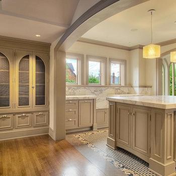 Chicken Wire Cabinets, Contemporary, kitchen, JAS Design Build