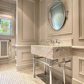 Bathroom Crown Molding Design Ideas