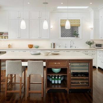 Kitchen Island Wine Fridge, Contemporary, kitchen, Sutro Architects
