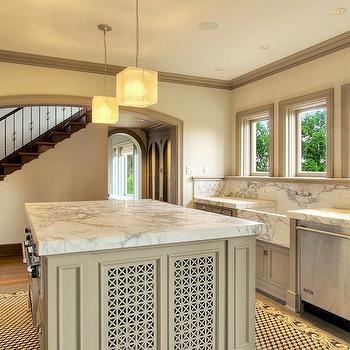 Calcutta Marble Countertops, Contemporary, kitchen, JAS Design Build