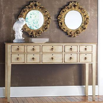 Clerk S Console Table Pottery Barn