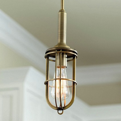 view full size cage lighting pendants