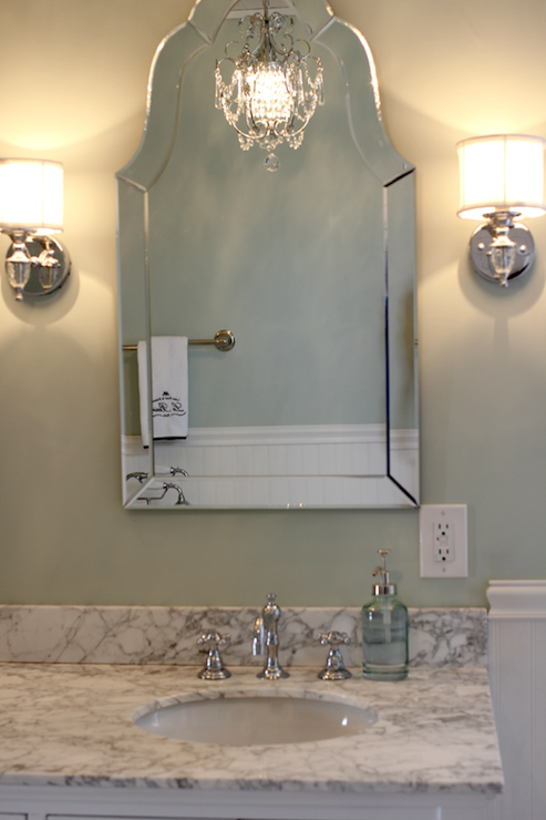 Arch Bathroom Mirrors Design Ideas